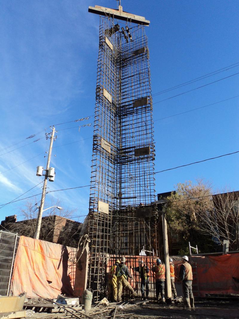 Slurry Wall Construction : Diaphragm wall construction slurry walls petrifond
