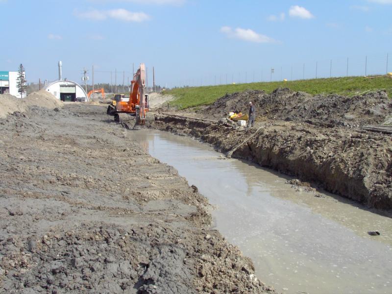Slurry Trench Soil Bentonite Cement Bentonite